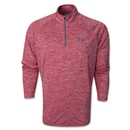 Under Armour 1/14 Zip LS T-Shirt (Red/White)
