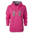 Under Armour Fleece Storm Women's Big Logo Hoody (Pink)
