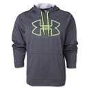 Under Armour Fleece Storm Outline Big Logo Hoody (Dk Grey)