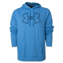 Under Armour Fleece Storm Outline Big Logo Hoody (Teal)