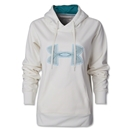 Under Armour Women Fleece Storm Embroidered Logo (Org/Wht)