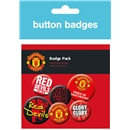 Manchester United Crest Badges Pack