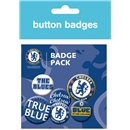 Chelsea Crest Badges Pack