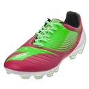 Diadora DD-NA GLX 14 Cleat (Fluo Green/Red Virtual Pink)