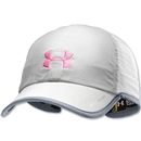 Under Armour Women's Armourlight Cap (White/Pink)