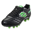 Lotto Stadio Potenza II 300 FG (Black/Metal Neon)