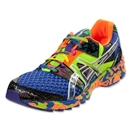 Asics GEL-Noosa Tri 8 Running Shoe (French Blue/Flash Yellow/Punch)