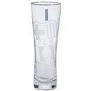 Barcelona Tall Etched Pint Glass