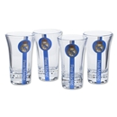 Real Madrid 4 Pack Shot Glass Set