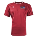 Serbia Primera Soccer Jersey (Red)