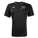 South Africa Primera Soccer Jersey (Black)