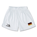 Germany Primera Soccer Shorts (White)