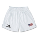 USA Primera Soccer Shorts (White)