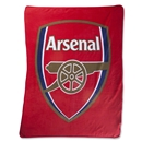 Arsenal Crest Fleece Blanket