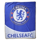 Chelsea Crest Fleece Blanket