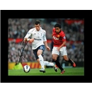 Gareth Bale Signed Photo Tottenham Hotspur Win at Old Trafford