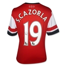 Santi Cazorla Signed Arsenal Shirt