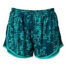 Nike Women's Printed Tempo Short 13 (Teal)