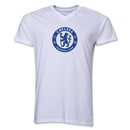 Chelsea Emblem V-Neck T-Shirt (White)