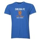 Chelsea Graphic V-Neck T-Shirt (Heather Royal)