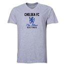 Chelsea Graphic V-Neck T-Shirt (Grey)