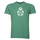 Santos Laguna Distressed Men's V-neck T-Shirt (Heather Green)