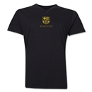 Barcelona Small Logo V-Neck T-Shirt (Black)
