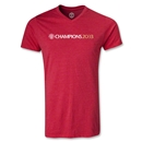 Manchester United 2013 Champions V-Neck T-Shirt (Red)
