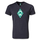 Werder Bremen V-Neck T-Shirt (Heather Gray)