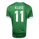 Germany 12/13 Miroslav Klose Away Soccer Jersey