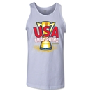 USA CONCACAF Gold Cup 2013 Champions Tank Top (White)