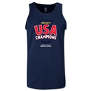 USA CONCACAF Gold Cup 2013 Champions Tank Top (Navy)