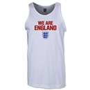 England We Are Tank Top (White)
