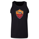 AS Roma Crest Tank Top (Black)
