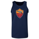 AS Roma Crest Tank Top (Navy)