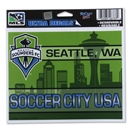 Seattle Sounders FC 4.5 x 6 Ultra Decal
