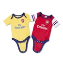 Arsenal Baby Bodysuit