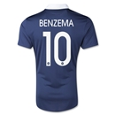France 2014 BENZEMA Authentic Home Soccer Jersey