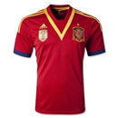 Spain 2013 Home Soccer Jersey