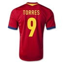 Spain 2013 TORRES Home Soccer Jersey