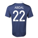 France 2014 ABIDAL Home Soccer Jersey