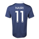 France 2014 NASRI Home Soccer Jersey