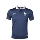 France 14/15 Youth Home Soccer Jersey