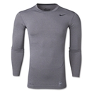 Nike Core 2.0 Compression Long Sleeve Top (Gray)