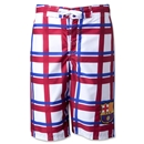 Barcelona Plaid Board Shorts