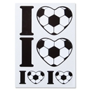 I Heart Soccer Decal
