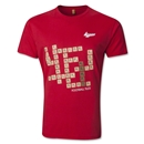 Kempt Soccer Scrabble T-Shirt (Red)