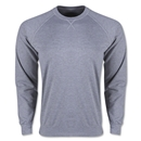 Long Sleeve Crewneck Fleece (Gray)