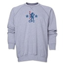Chelsea Retro Crewneck Fleece (Gray)