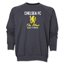 Chelsea Graphic Crewneck Fleece (Dark Grey)